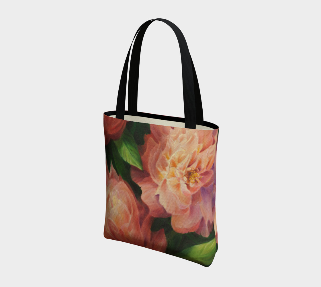 Spring Floral Tote Bag preview #3