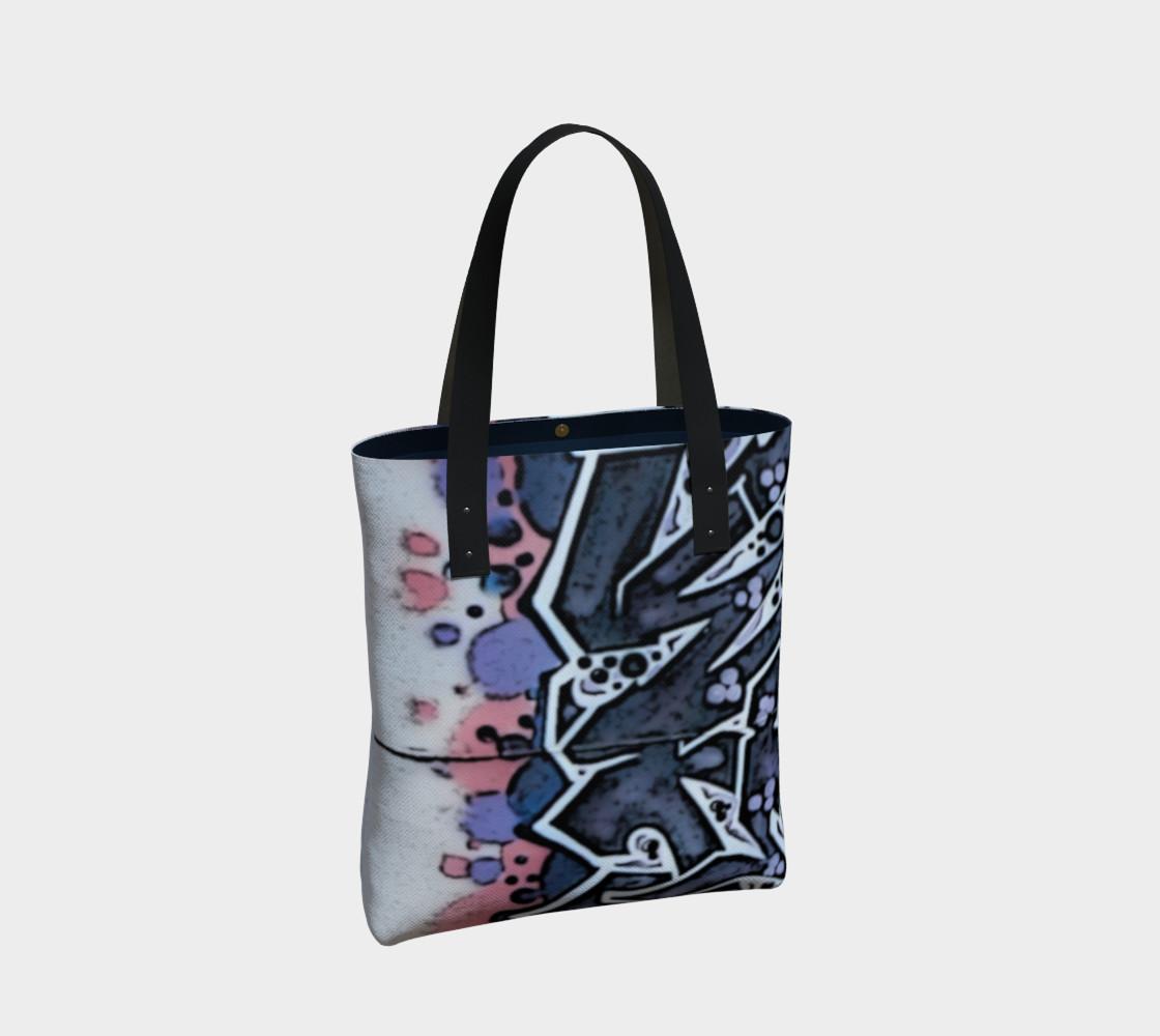 Train Grafitti #4 Tote Bag preview #2