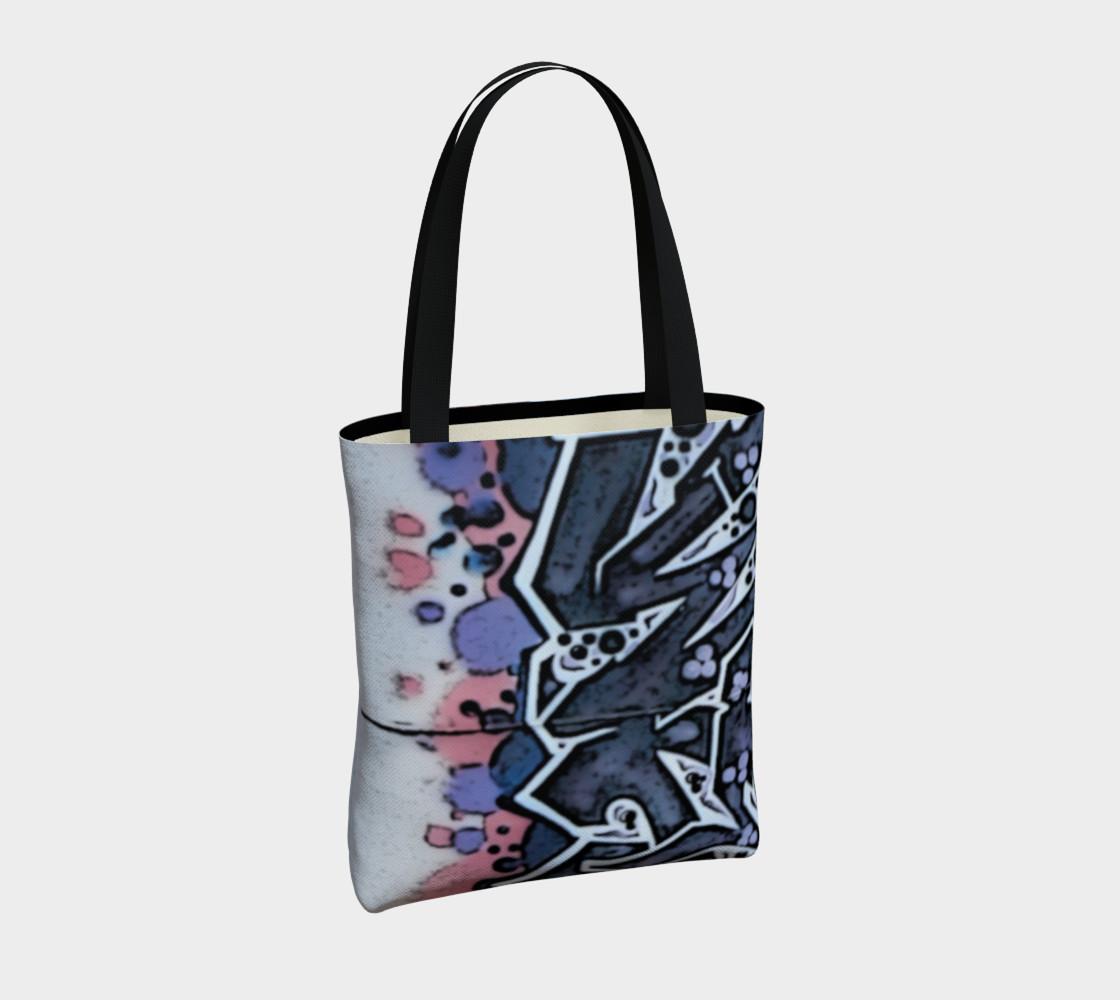 Train Grafitti #4 Tote Bag preview #4