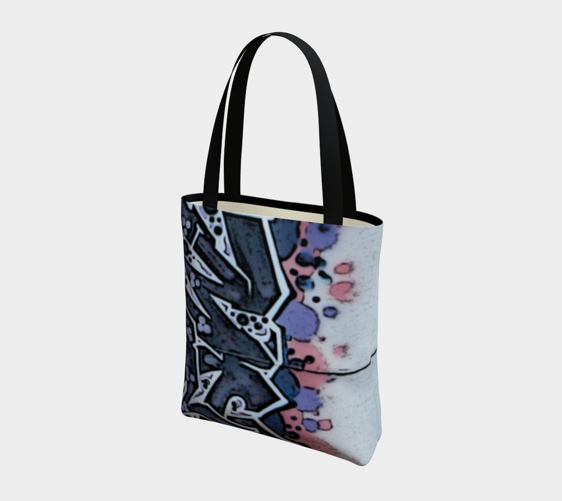 Train Grafitti #4 Tote Bag preview #3