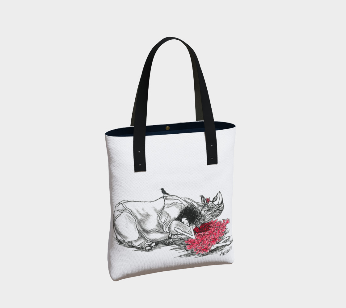 Red Rhino tote preview #2