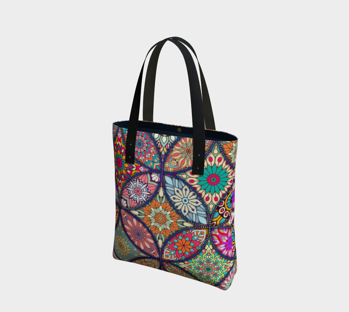 Vibrant Mandalas Tote Bag preview #1