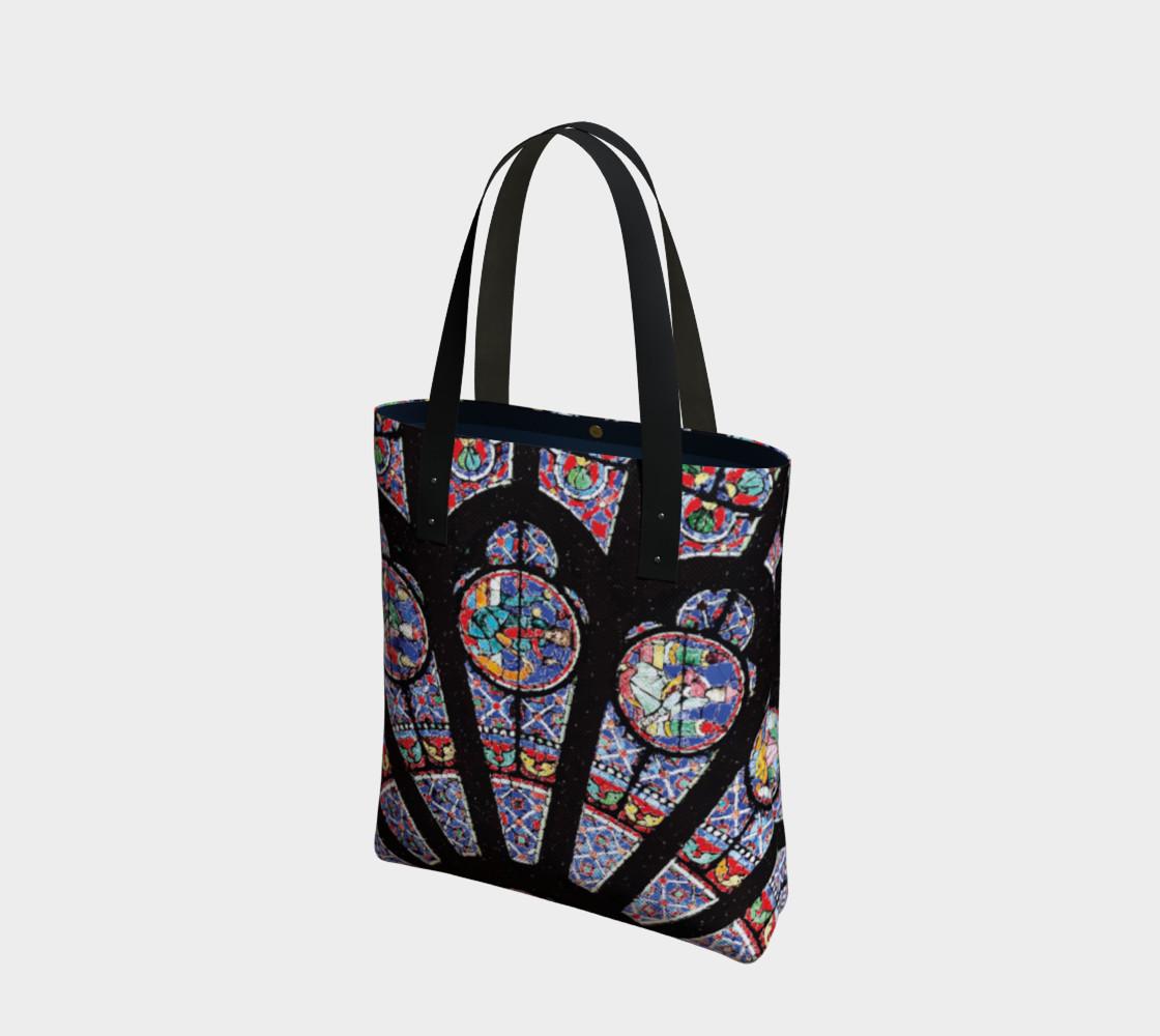 Rose South Window, Notre Dame Paris Tote Bag preview #1