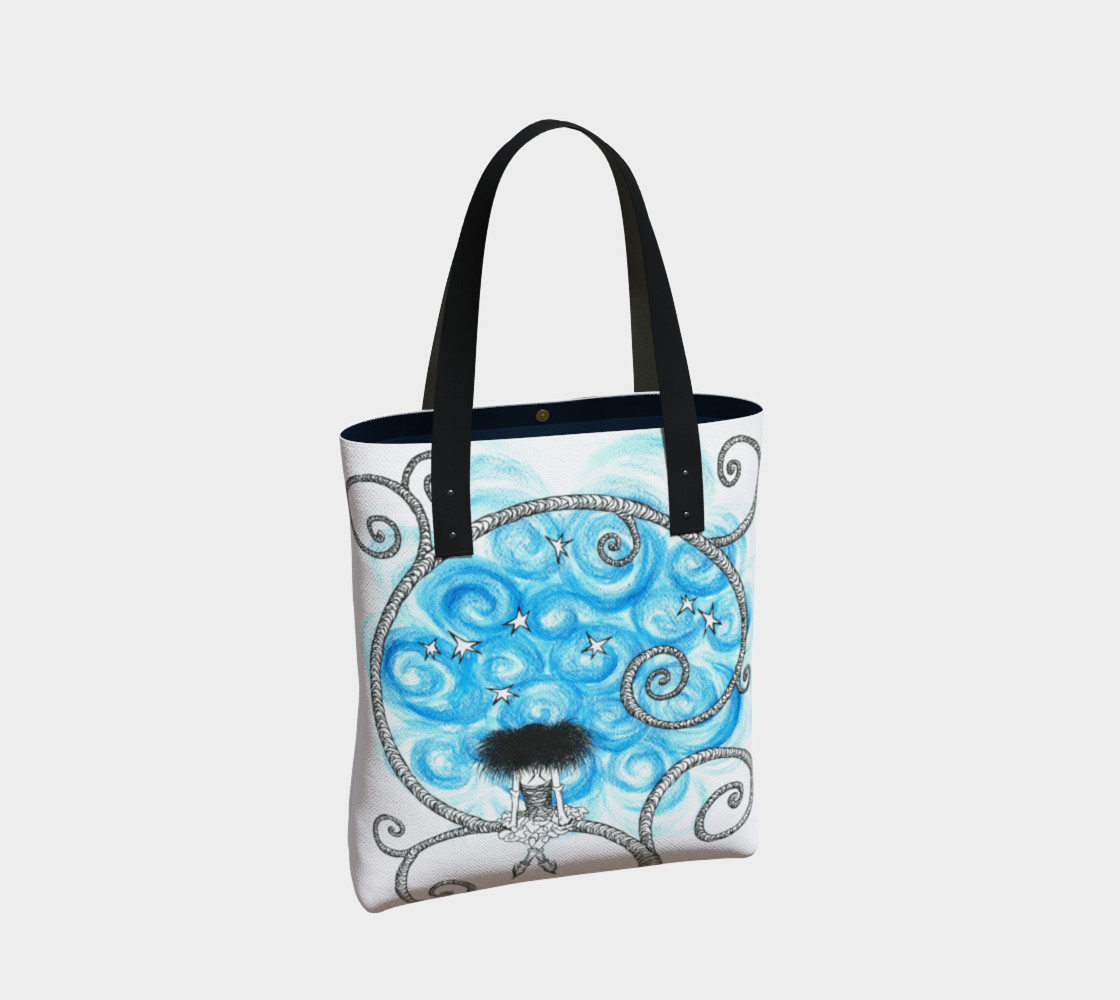 Penelope night sky tote preview #2
