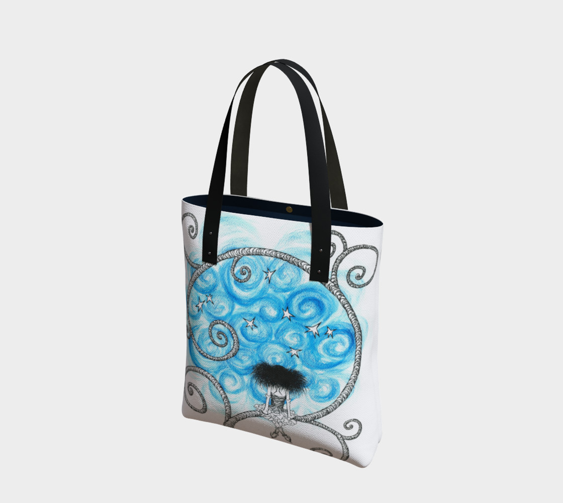 Penelope night sky tote thumbnail #2
