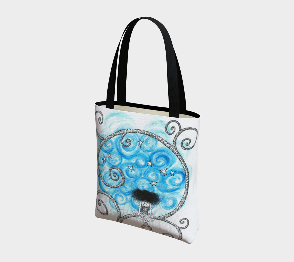 Penelope night sky tote preview #3