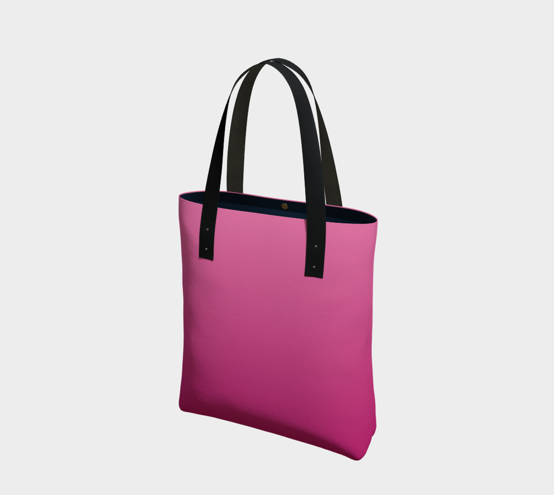Many Shades of Pink Tote Bag preview #1