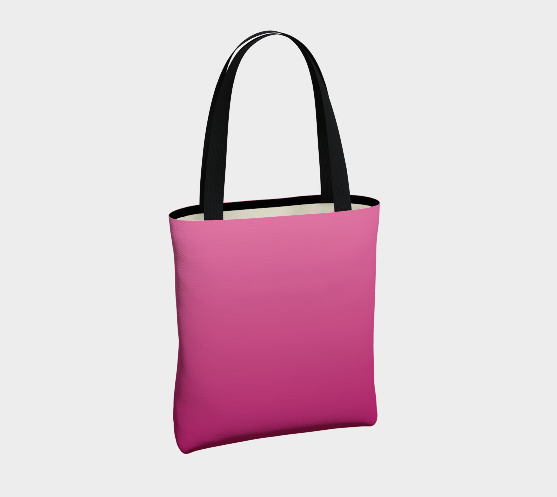 Many Shades of Pink Tote Bag preview #4