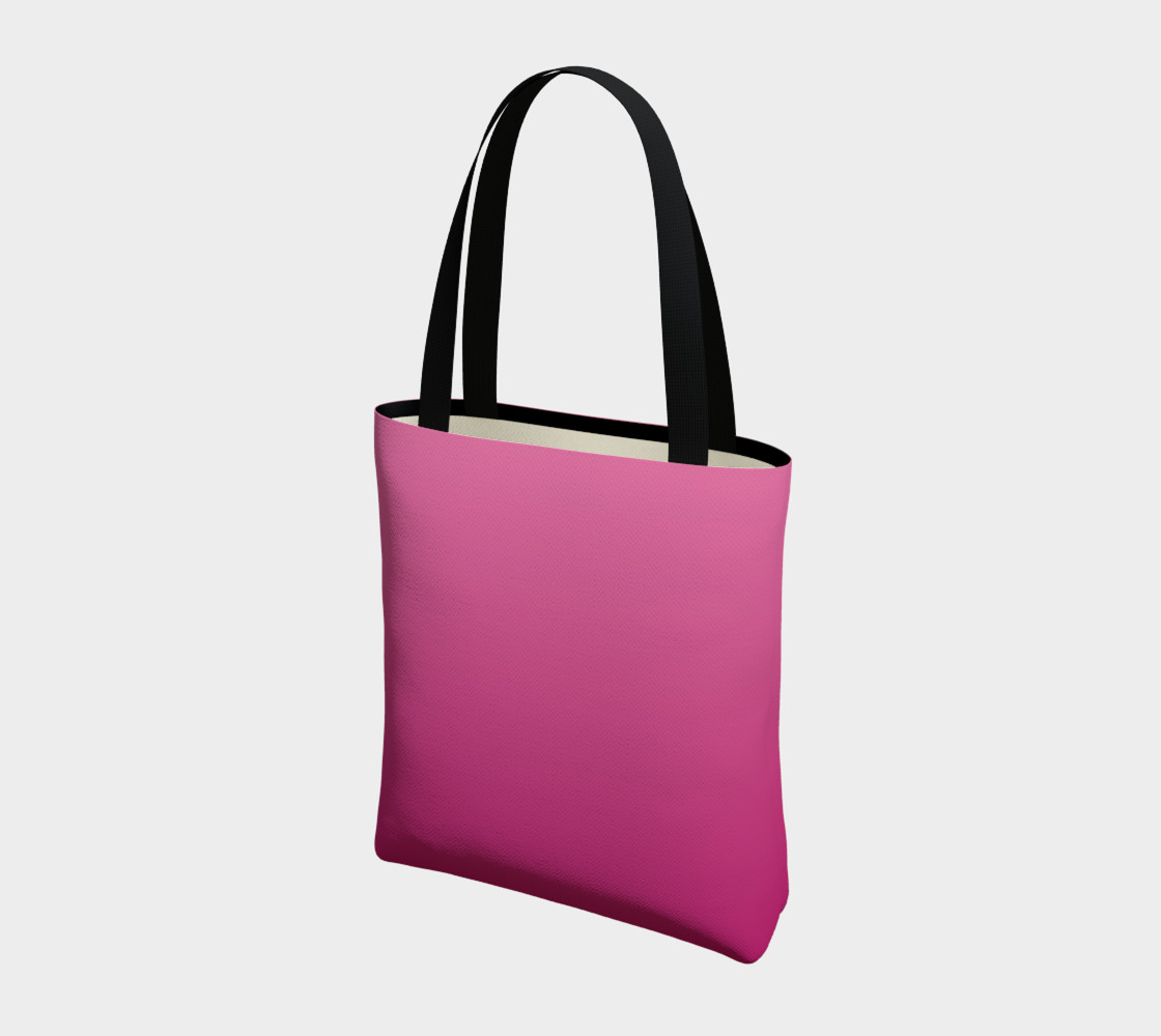 Many Shades of Pink Tote Bag preview #3