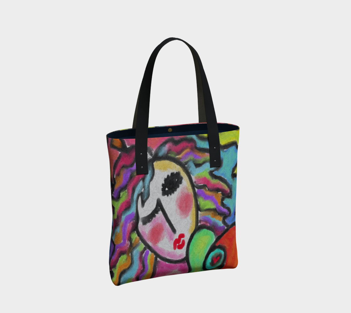 Colorful Abstract Art Shoulder Bag preview #2
