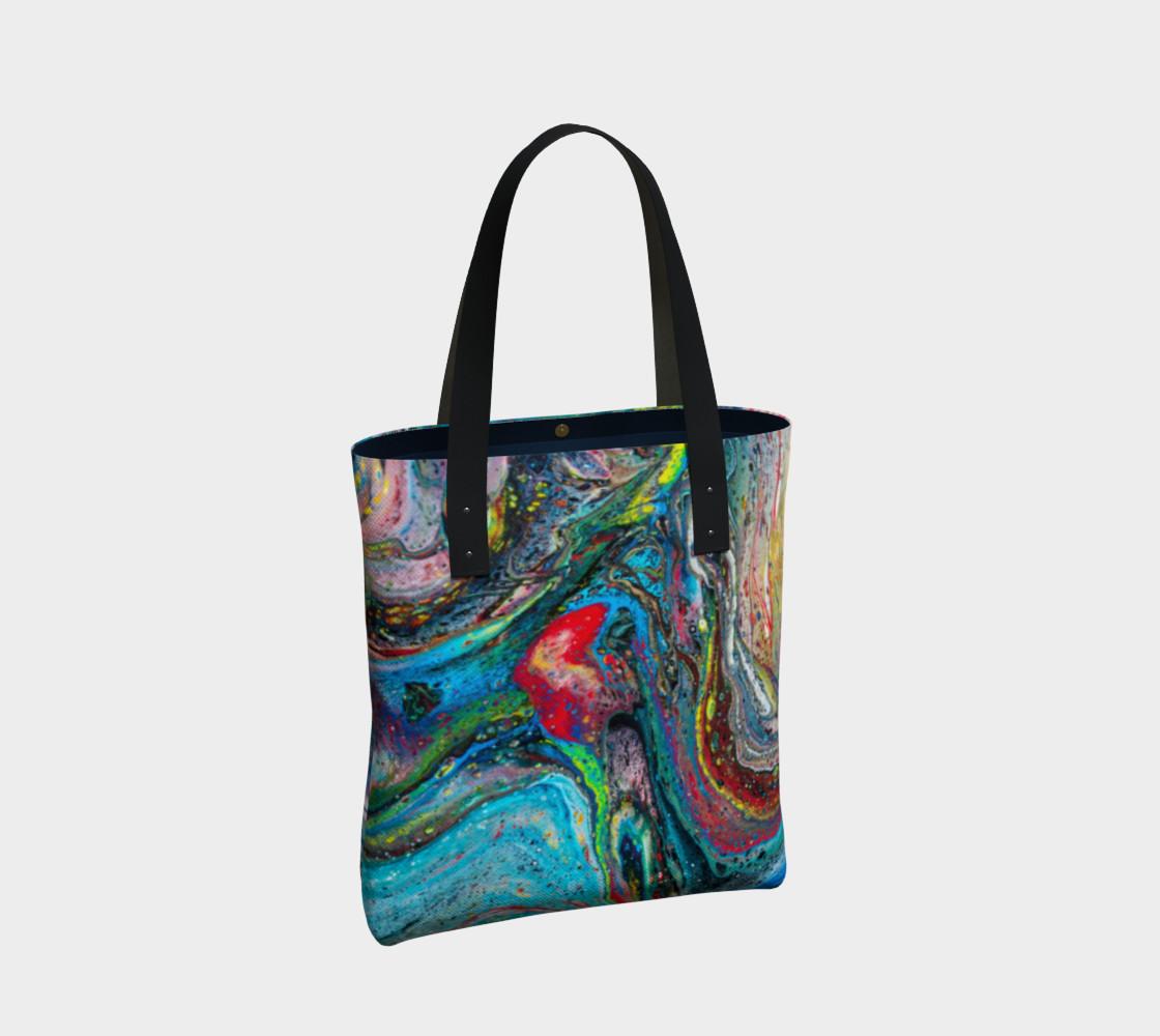 A River Runs Through It Acrylic Pour Art preview #2