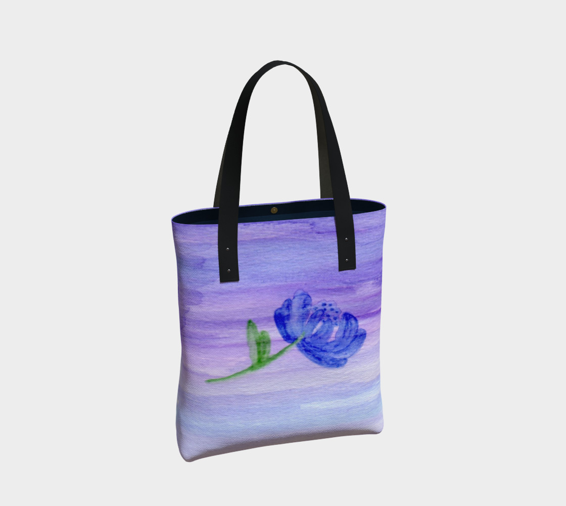 Mum Flower Tote Bag preview #2