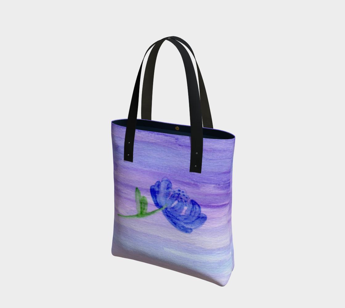 Mum Flower Tote Bag preview #1