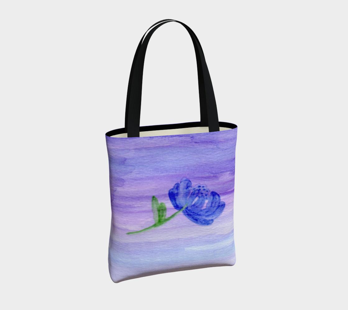 Mum Flower Tote Bag preview #4