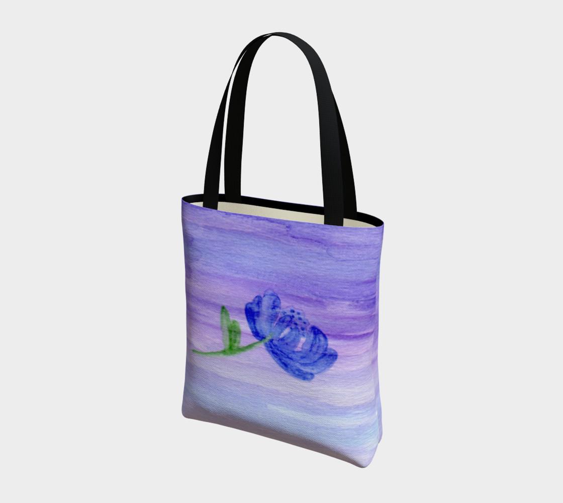 Mum Flower Tote Bag preview #3