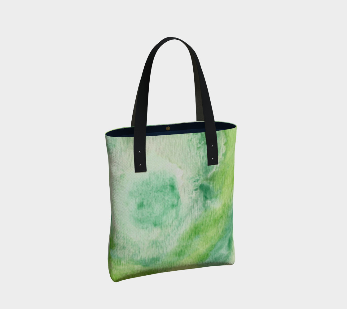 Fleur Verte Tote Bag preview #2