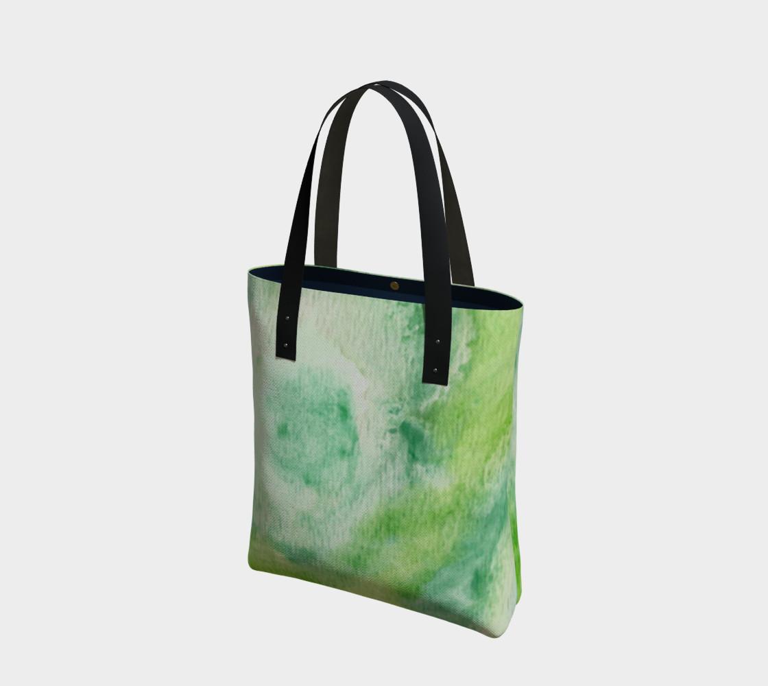 Fleur Verte Tote Bag preview #1