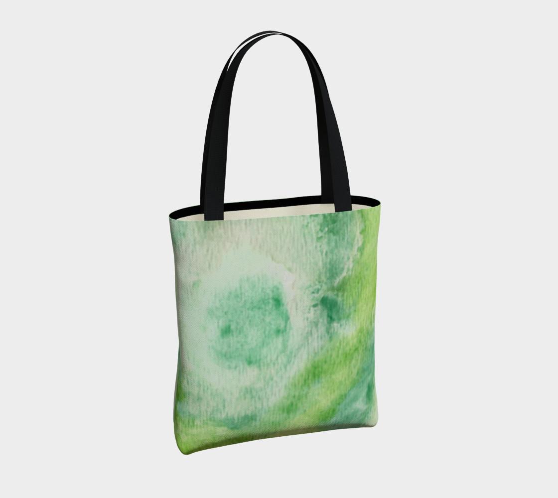 Fleur Verte Tote Bag preview #4