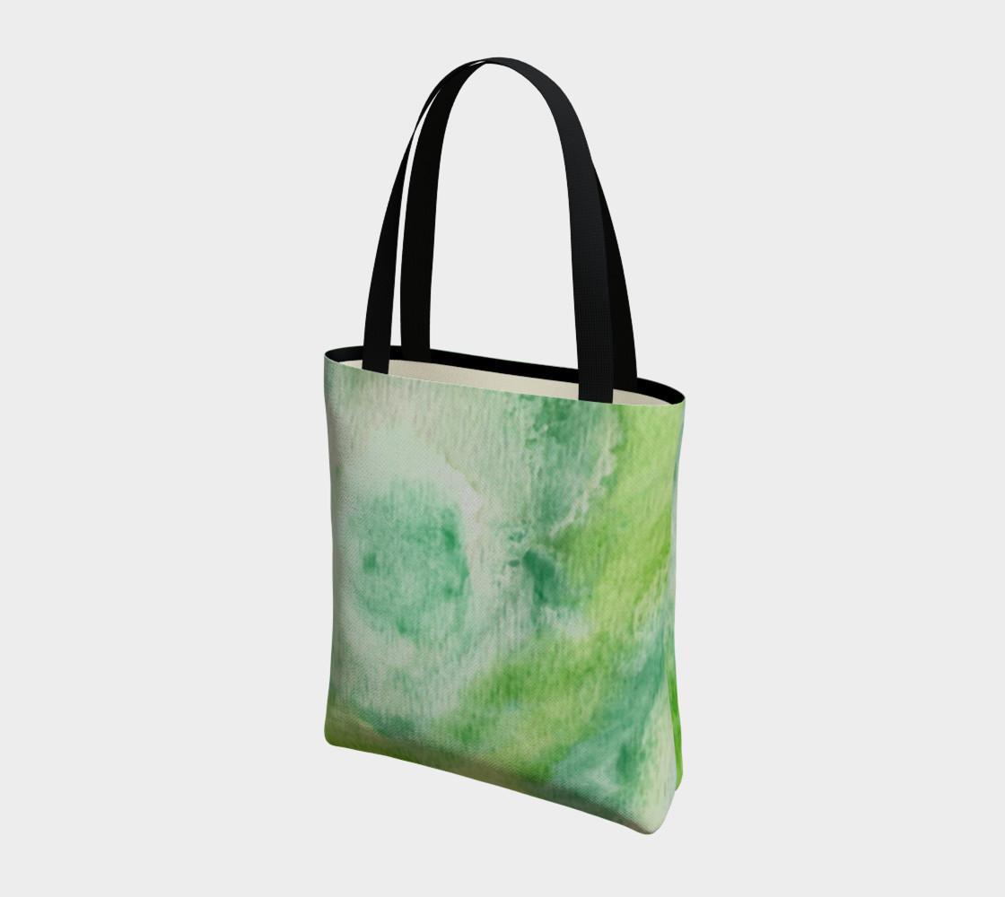 Fleur Verte Tote Bag preview #3
