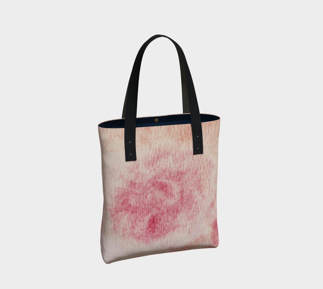 Peach Rose Tote Bag preview #2