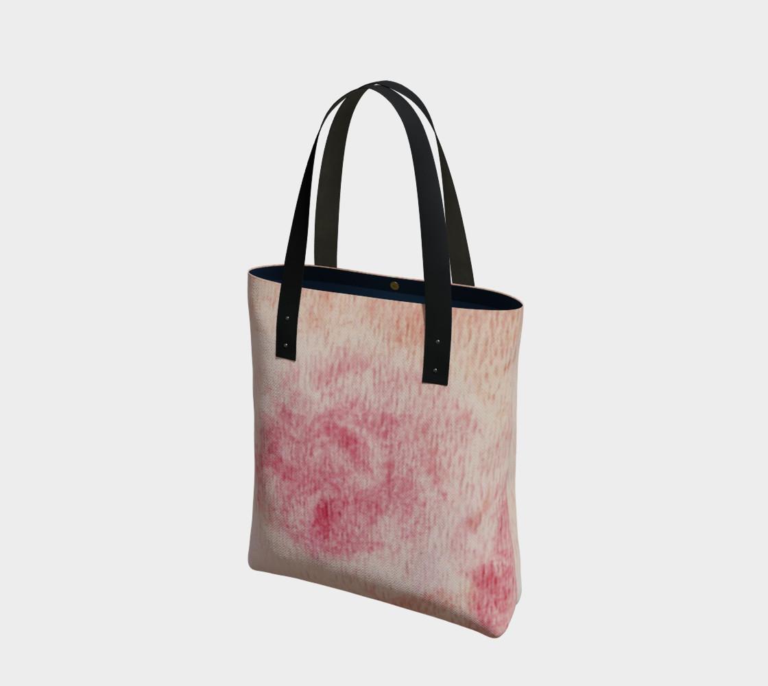 Peach Rose Tote Bag preview #1