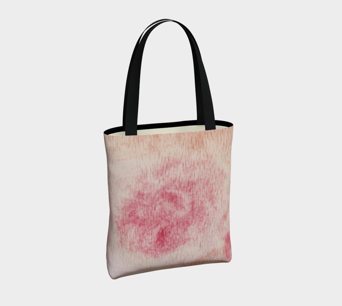 Peach Rose Tote Bag preview #4