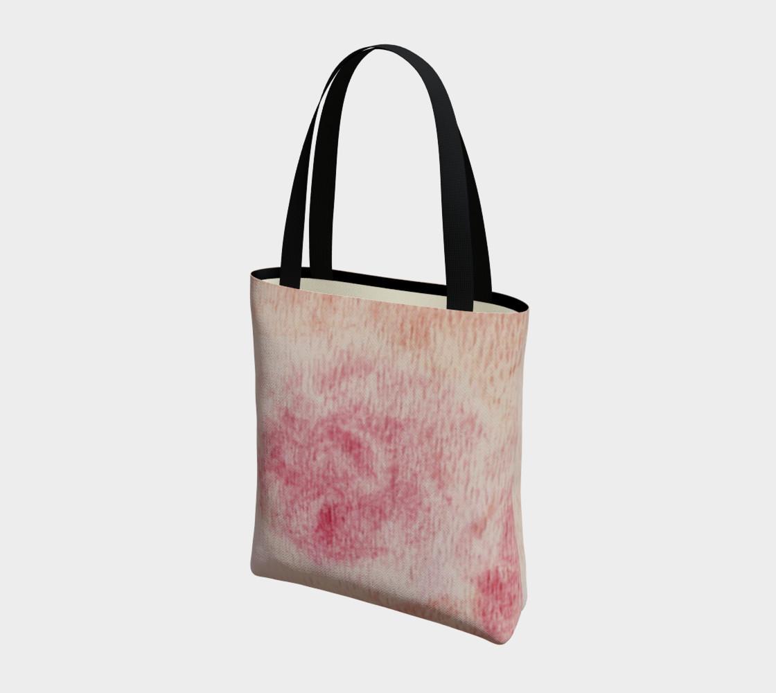Peach Rose Tote Bag preview #3