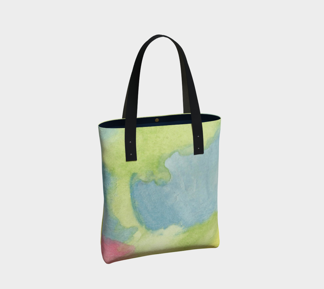 Flowers in Stained Glass Tote Bag preview #2