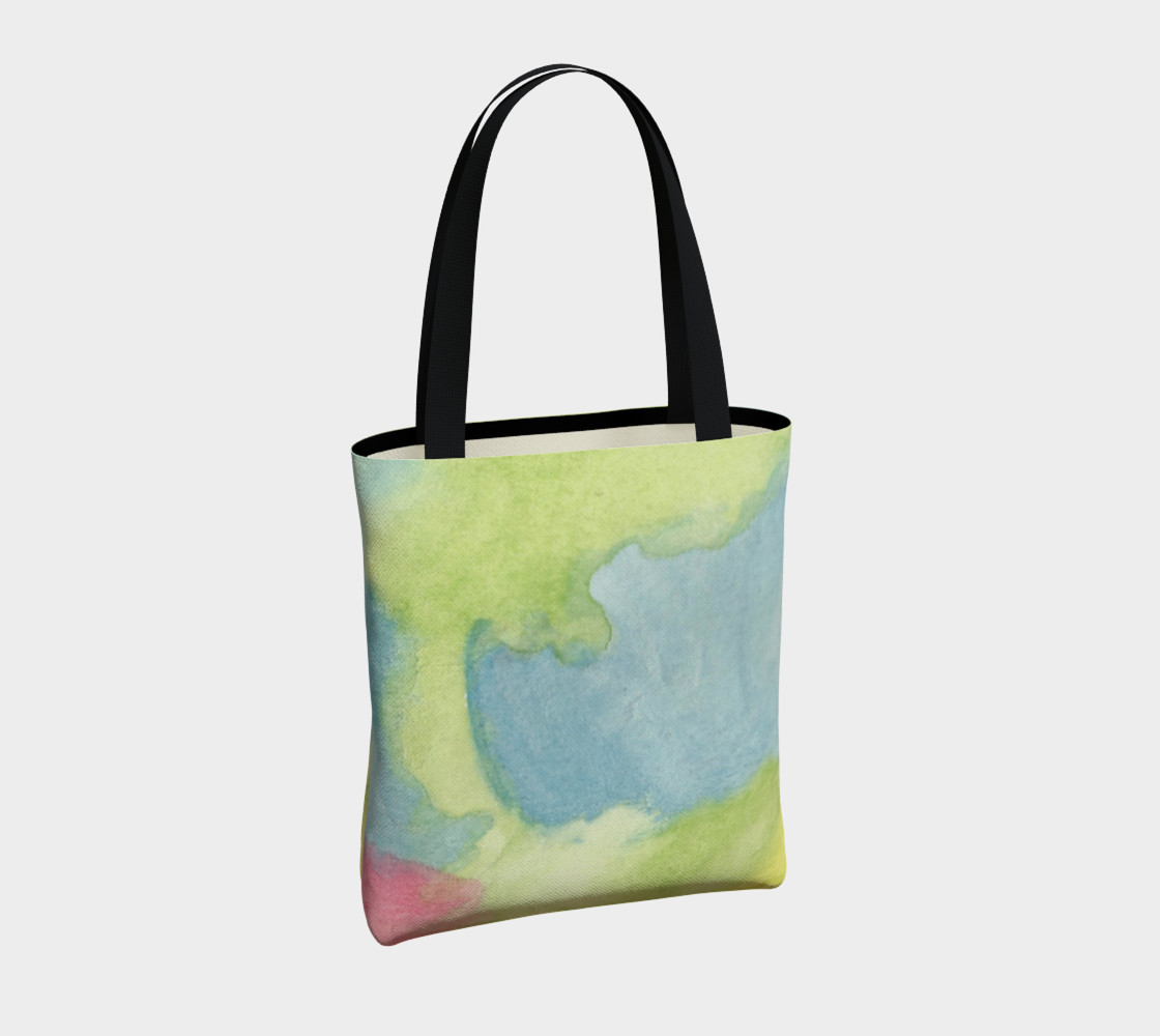 Flowers in Stained Glass Tote Bag preview #4