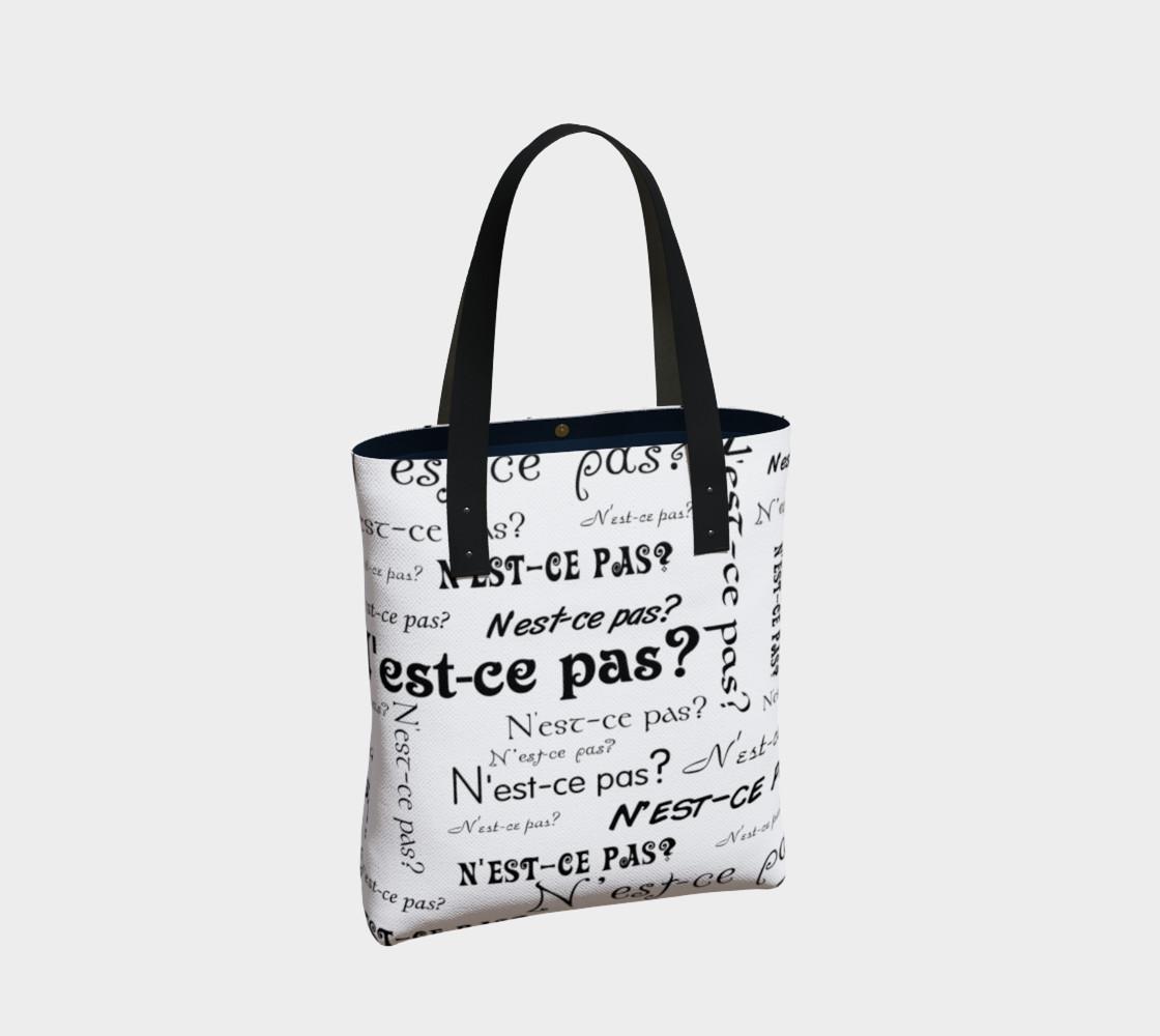 N'est-ce Pas Tote Bag preview #2