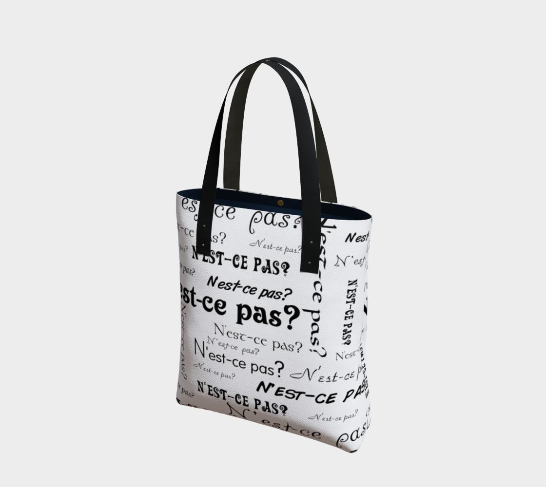 Aperçu de N'est-ce Pas Tote Bag #1