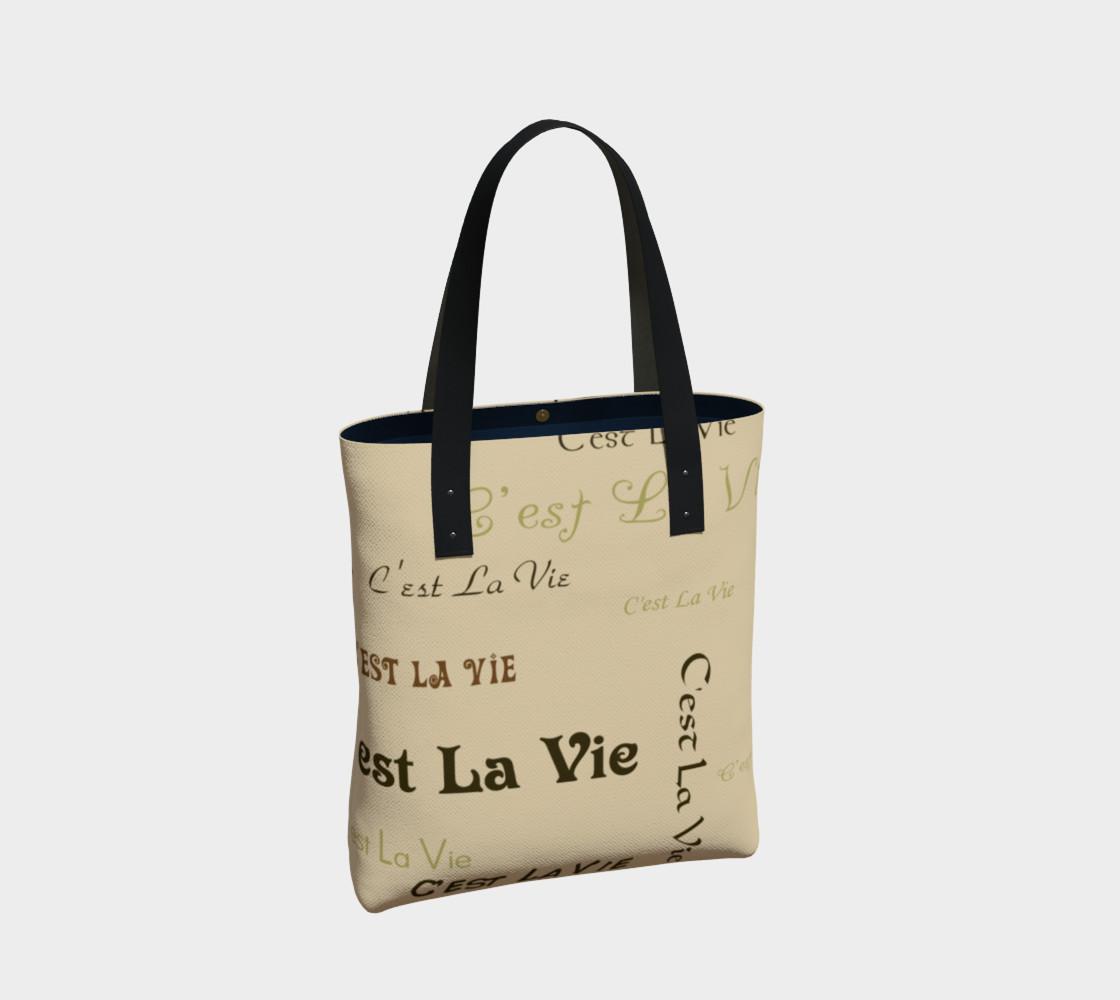 Aperçu de Coffee C'est la Vie Tote Bag #2