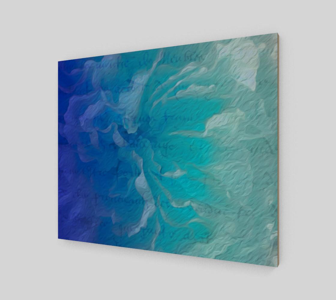 Aperçu de Blue I So Hope 24 x 20 Print #2