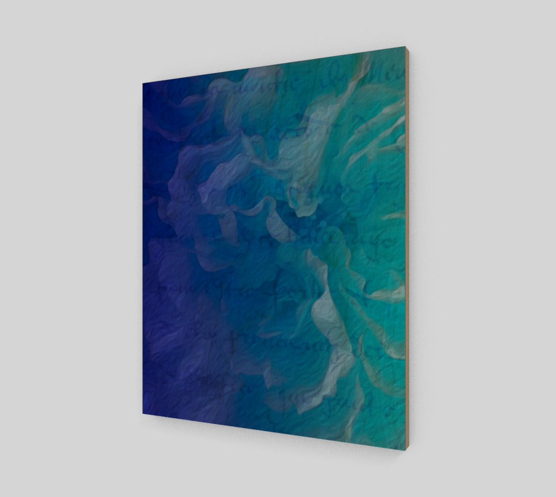 Blue I So Hope 16 x 20 Print preview #1