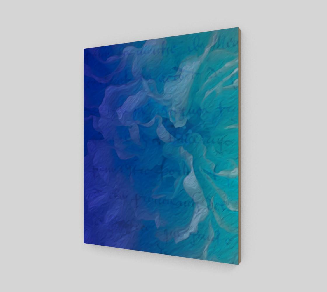 Blue I So Hope 16 x 20 Print preview #2