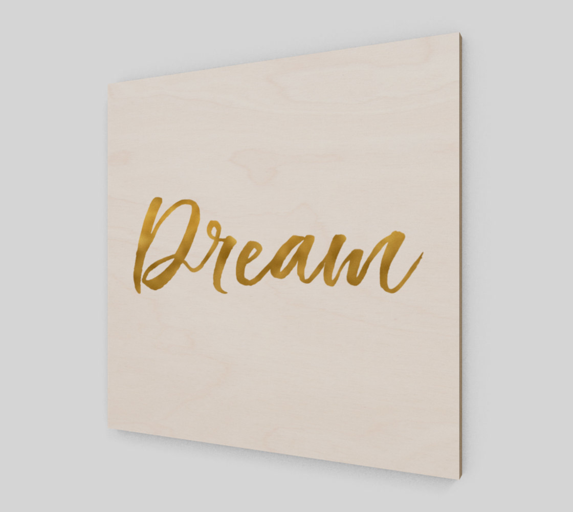 Gold White Inspirational Dream preview #2