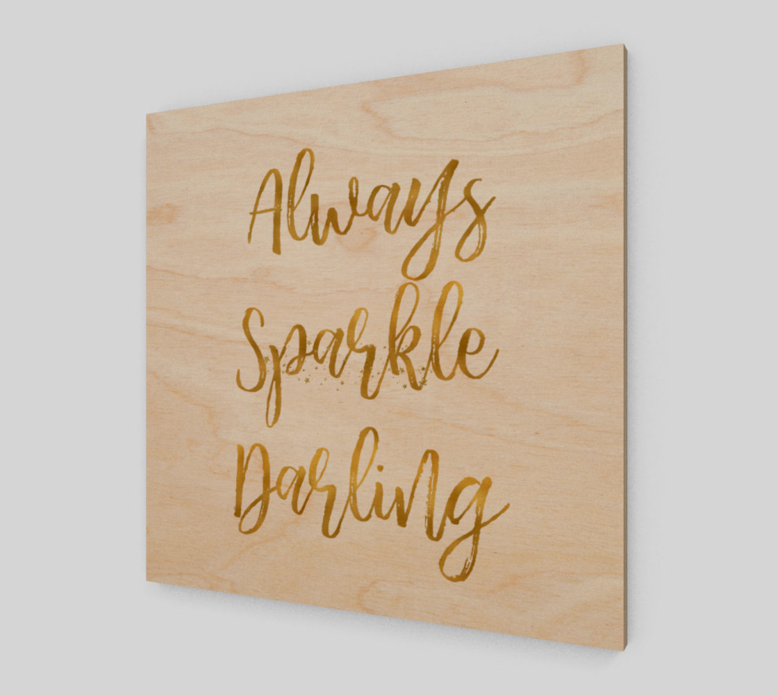 Gold Always Sparkle Darling preview #1