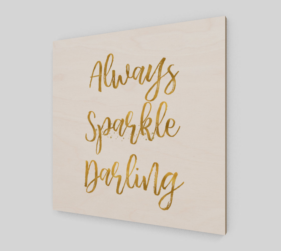Gold Always Sparkle Darling preview #2