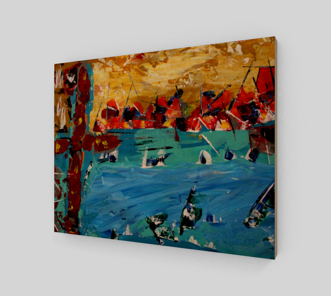 Ships Canvas Miniature #2