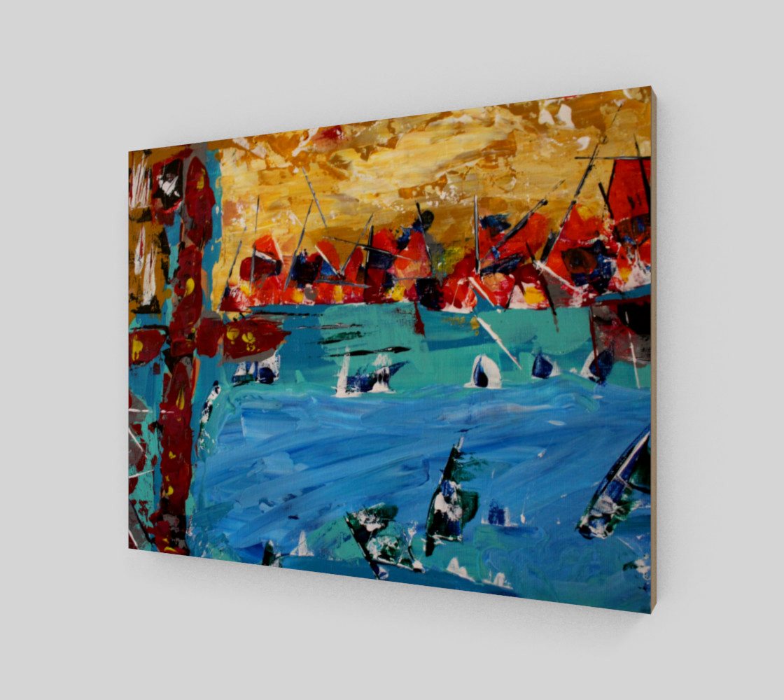 Ships Canvas Miniature #3