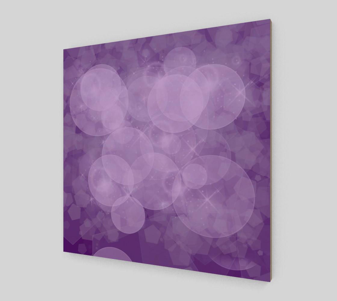 purple bubbles wall arts preview #2