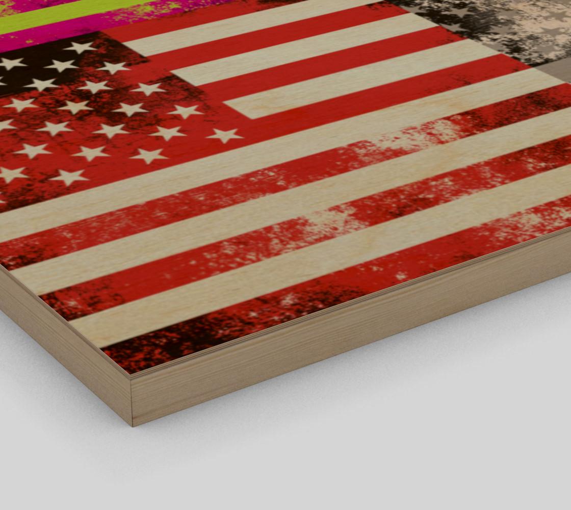 American Flag Pop Art preview #3