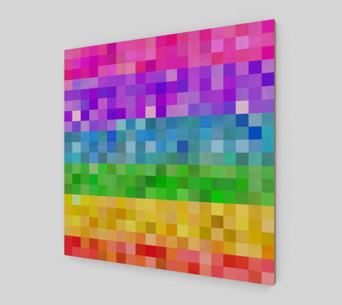 Rainbow Pixels preview #2