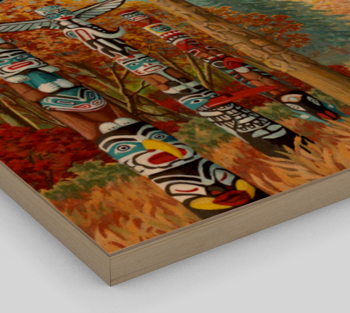 Vancouver Totem Painting Prints preview #3