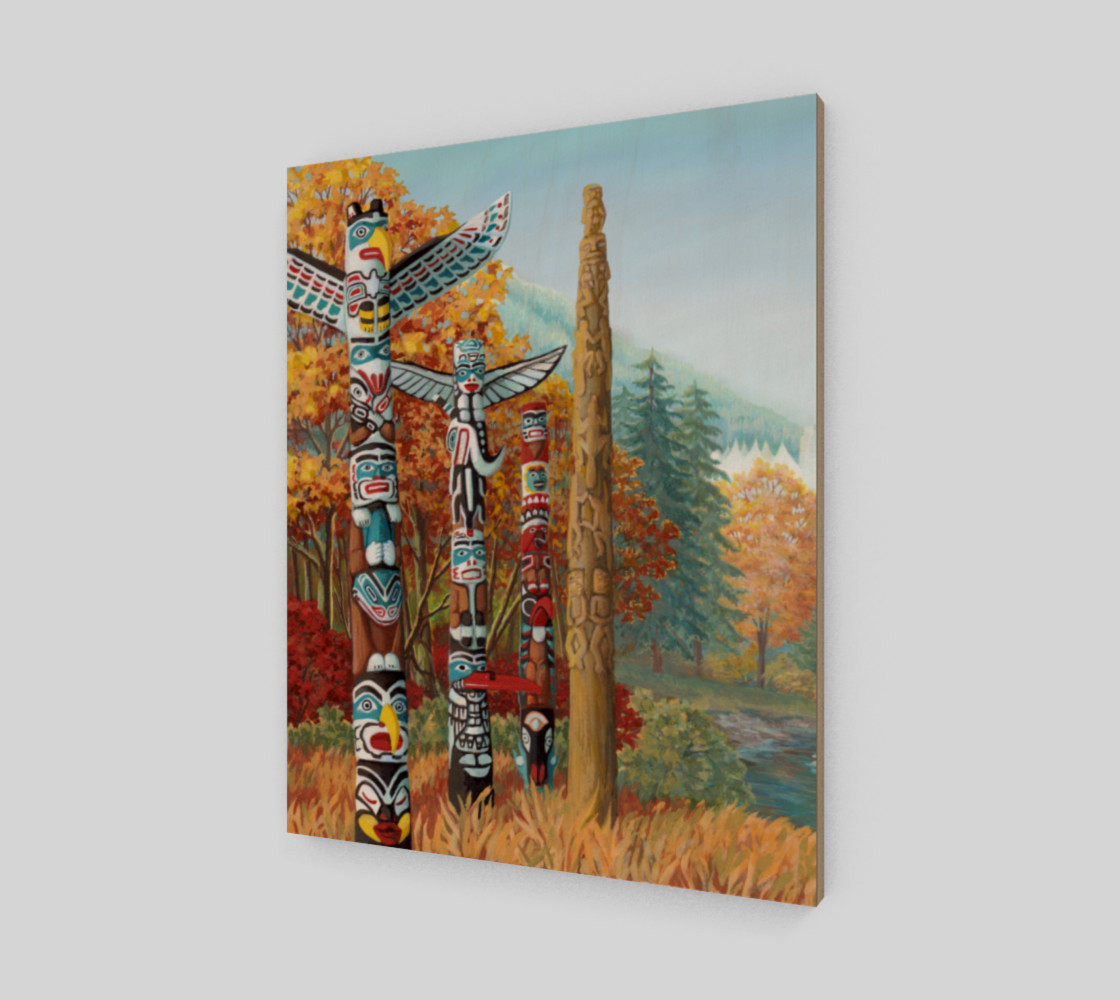 Vancouver Totem Painting Prints preview #2