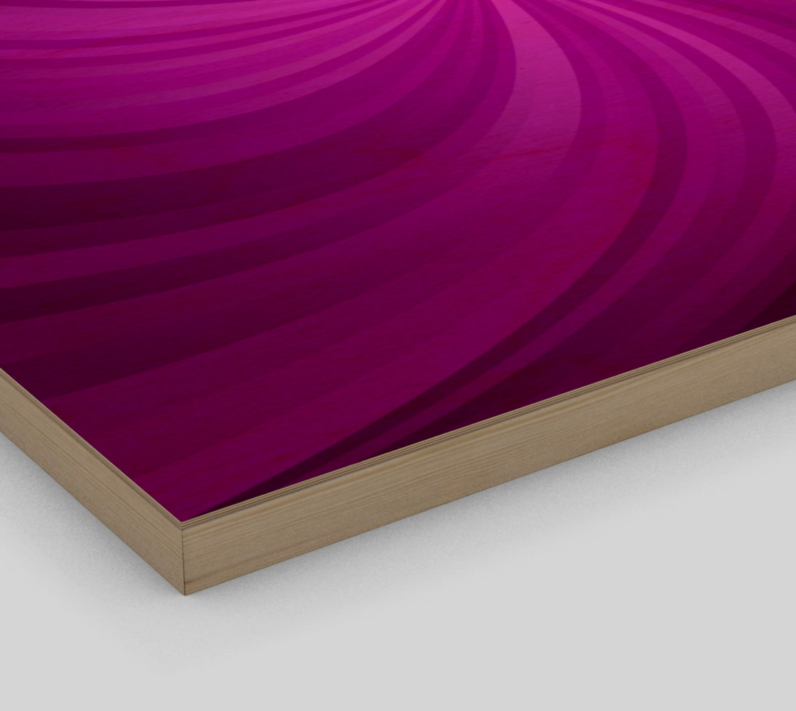 purple spiral wall art preview #3