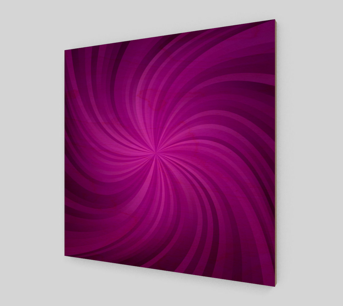 purple spiral wall art preview #1