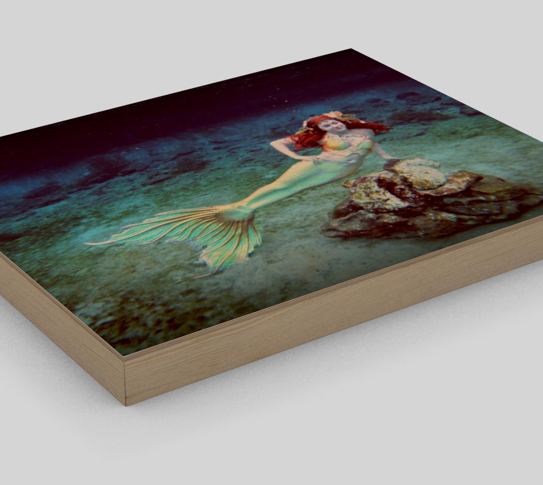 Underwater Mermaid Print preview #3