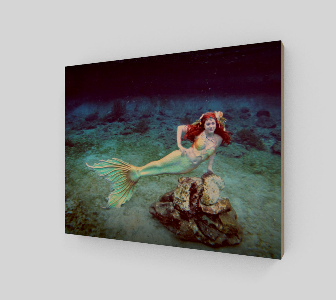 Underwater Mermaid Print preview #1