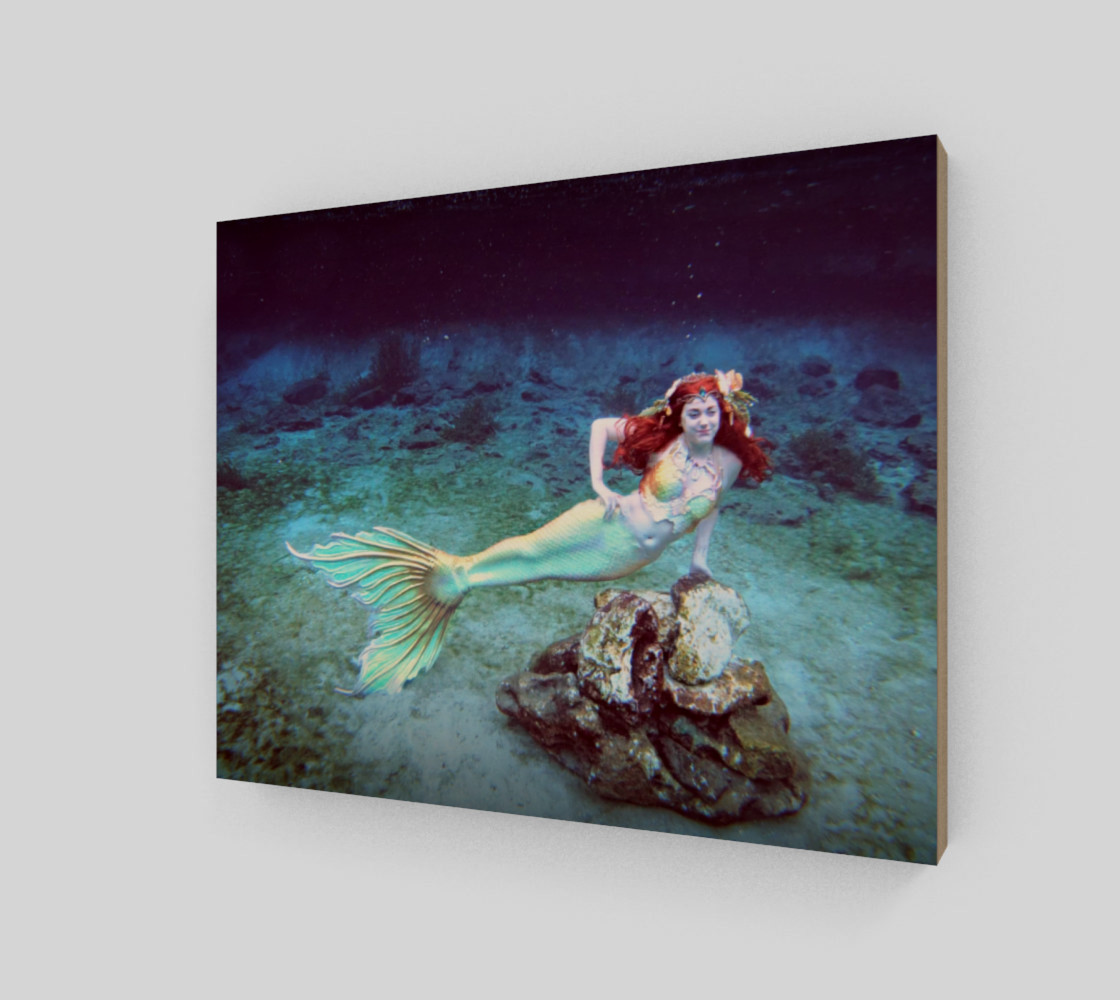 Underwater Mermaid Print preview #2
